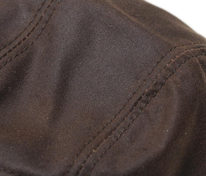 ニューヨークハット/NEWYORK HAT アメリカ製 ''オイルドクロス''キャンプキャップ・帽子(6415-OIL-CAMP)