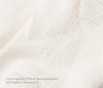 オーガニックスレッズ/ORGANIC THREADS アメリカ製 ''クリーム''3パックオーガニックノーショーソックス/靴下(3-PACK NO SHOW SOCKS-CREAM)