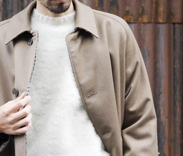 [送料無料]ピーターブランス/PETER BLANCE 英国製 クルーシャギードッグセーター・ニット(PB-SHAGGY-DOG)