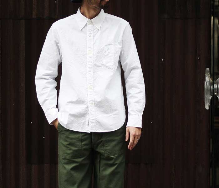 フェローズ PHERROW'S 日本製 ボタンダウンシャツ オックスフォード (PBD1)