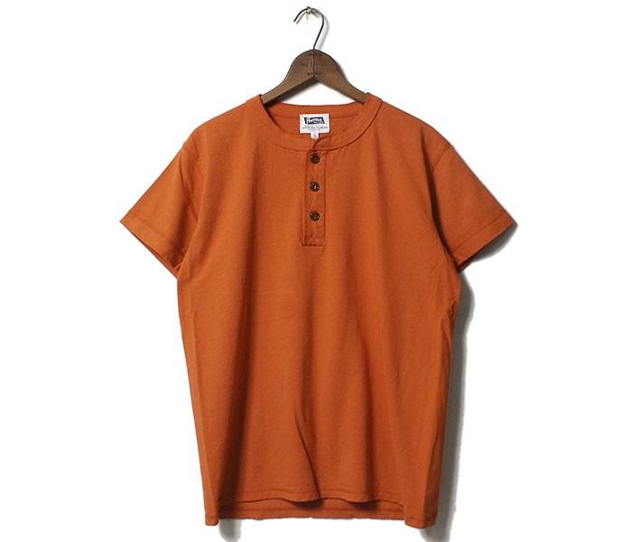 フェローズ PHERROW'S ヘンリーネック Tシャツ (PHNT1-HENLEY)