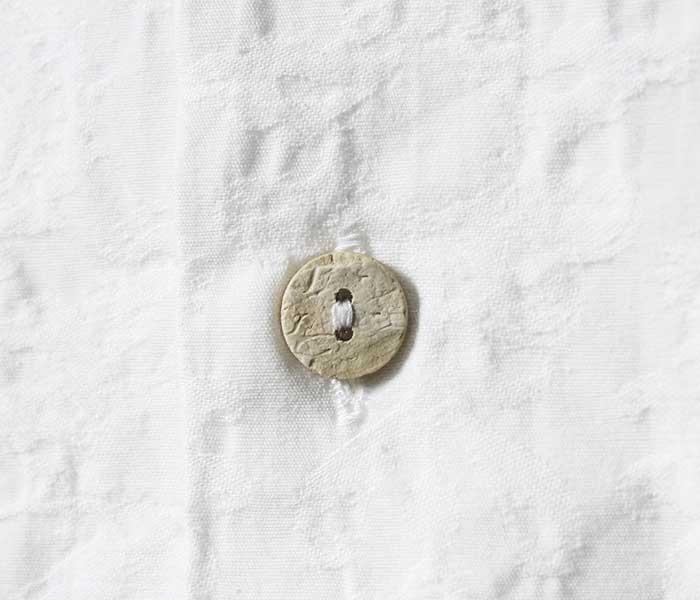 フェローズ PHERROW'S 半袖 オープンカラー シャツ 開襟シャツ ジャガード OPEN COLLAR S/S SHIRTS MADE IN JAPAN (19S-PIS1)