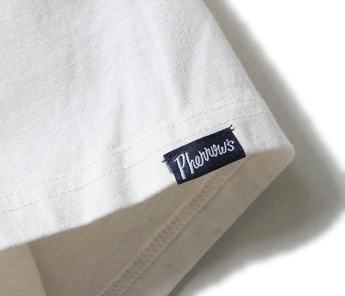 フェローズ/PHERROW'S(PHERROWS) ポケT ポケット付きTシャツ (PPT-PLAIN)
