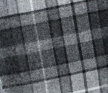 ロイヤルヘザー/ROYAL HEATHER by ジョンストンズ/JOHNSTONS 英国製 ''チェック柄''ラムズウールスカーフ・マフラー(ROYALHEATHER-SCARF-WD33(CHECK))