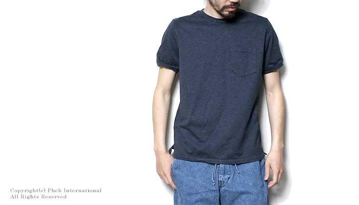 レミレリーフ/REMI RELIEF 日本製 メランジスーパー度詰め天竺 クルーネックTシャツ(MELANGE-SUPER-HEAVY-CREW(RN1618-9122))