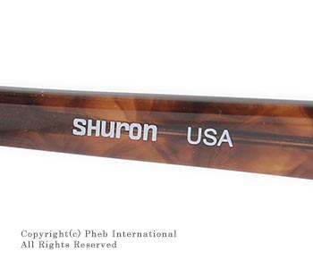 シュロン/SHURON×フェブ/PHEB アメリカ製別注''ロンサー''ブロウ型サングラス(RONSIR-SUNGLASS)