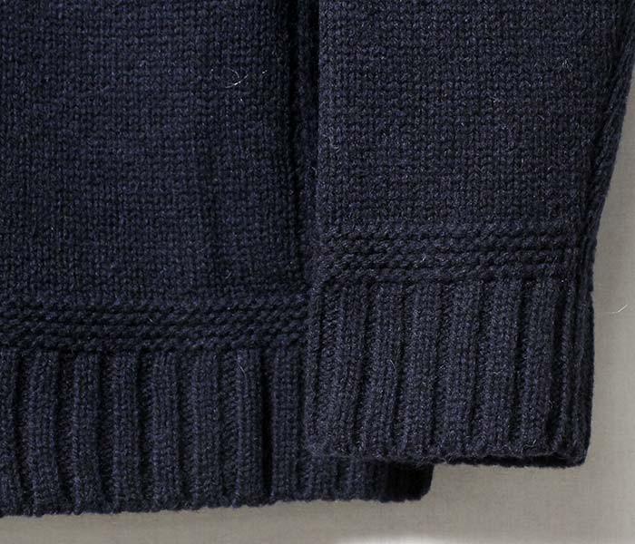 [送料無料]ソリア/SOGLIA 日本製 ''ランドノア''エルボーパッチ付き ニット セーター(LANDNOAH-SWEATER)