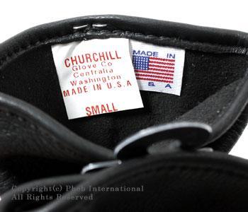 チャーチルグローブ/CHURCHILL GLOVE アメリカ製ディアスキングローブ【STANDARD CUFF】