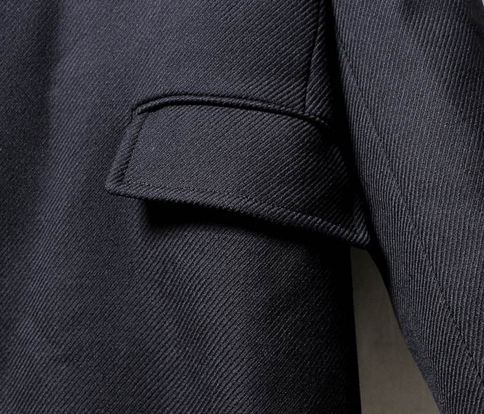 サヴィー/salvy; 日本製 ベルテッド ウール アルスターコート (SV01-2417CM)