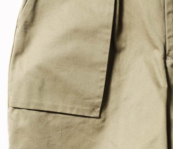 [送料無料]サヴィー/salvy; 日本製 BIZEN No1 TWILL ファティーグショーツ ショートパンツ FATIGUE SHORTS (BIZEN-NO1-TWILL-SHORTS(SV06-73U18A))