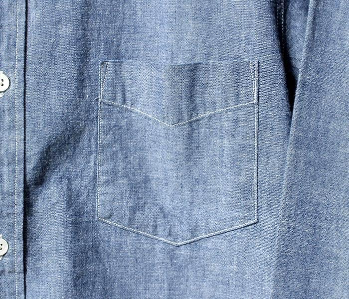 [送料無料]タウンクラフト/TOWN CRAFT(BY サニースポーツ/SUNNY SPORTS) 日本製 シャンブレー ボタンダウンシャツ  (TC14F003)