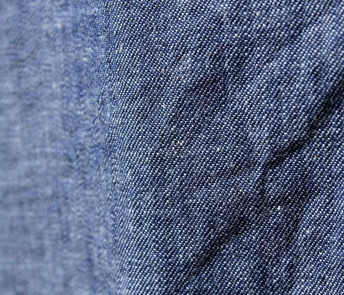 タウンクラフト/TOWN CRAFT 日本製 デニム 半袖 オープンカラーシャツ 開襟シャツ (TC14F006SS)