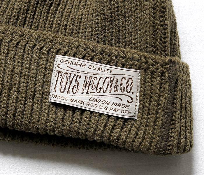 トイズマッコイ/TOYS McCOY 日本製 ミリタリーニットキャップ ワッチキャップ (TMA1633)