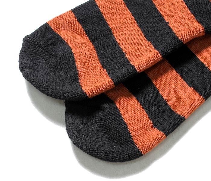 トイズマッコイ/TOYS McCOY ベック/BECK ボーダー 3パック 3足セット ブーツソックス 靴下 (TMA1727)