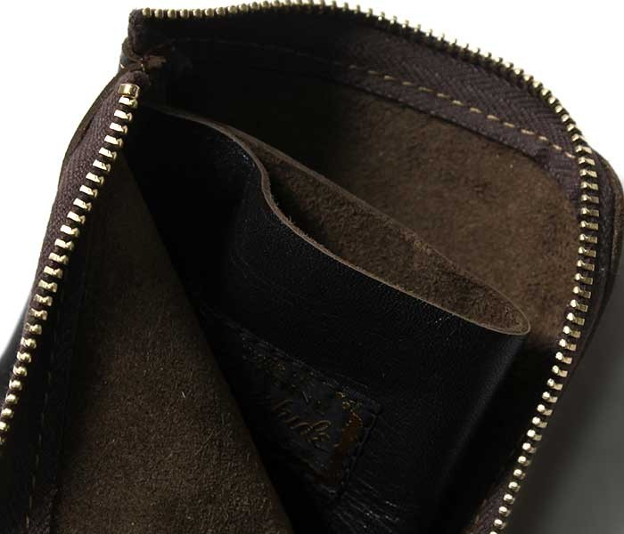 トイズマッコイ TOYS McCOY レザーポケットパース Lジップ ホースハイド 財布 ウォレット LEATHER POCKET PURSE MADE IN JAPAN (TMA1834)