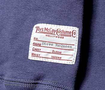 [送料無料]トイズマッコイ/TOYS McCOY ''ロングスリーブ''マックイーンスウェット(TMC1459)