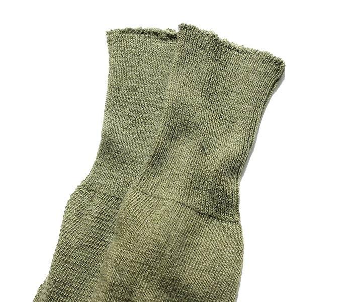 [メール便送料無料]デッドストック/DEADSTOCK アメリカ製 ''オリーブ/スモール'' アメリカ軍 ミリタリー クッション ウールソックス ブーツソックス CUSHION SOLE SOCKS (USMIL-SOX-OLIVE-SMALL)