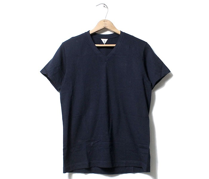 フィルメランジェ/FILMELANGE 日本製 ''ビクター'' VネックTシャツ (FM-VICTOR)
