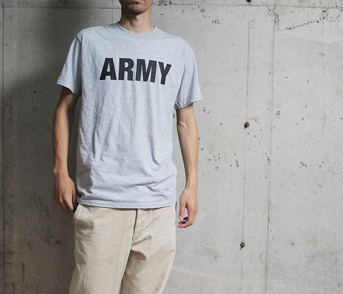 デッドストック/DEADSTOCK 1990s ARMY プリント Tシャツ フルーツオブザルームボディ (US-ARMY-PT-TEE)