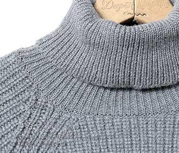 [送料無料]ソリア/SOGLIA 日本製 ''ウイナーズ''タートルネックセーター ニット(WEANERS-TURTLE)