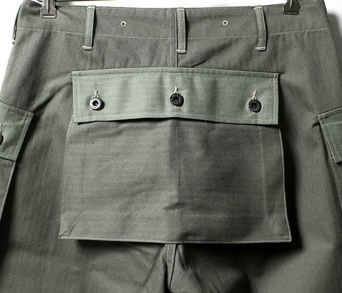 [送料無料]ウエアハウス/WAREHOUSE 日本製 USMC M-44 M44 ヘリンボーン モンキーパンツ USMC HERRINGBONE MONKEY PANTS (1097-USMC-MONKEY-PS-NW)