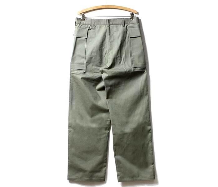 [送料無料]ウエアハウス/WAREHOUSE 日本製 U.S.ARMY M-43 M43 ヘリンボーンパンツ 2ポケットカーゴパンツ U.S.ARMY HERRINGBONE PANTS (1098-USARMY-HBT-PT-NW)