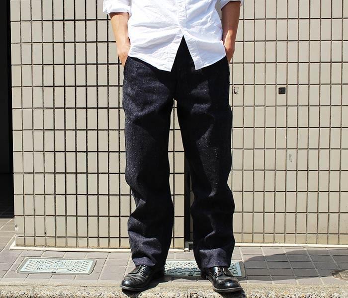 [送料無料]ウエアハウス/WAREHOUSE 日本製 インディゴデニム トラウザーズ デニムチノ (1082-DENIM)