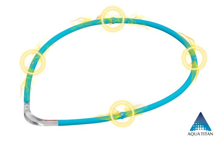 ファイテン RAKUWA磁気チタンネックレスS-||(phiten)