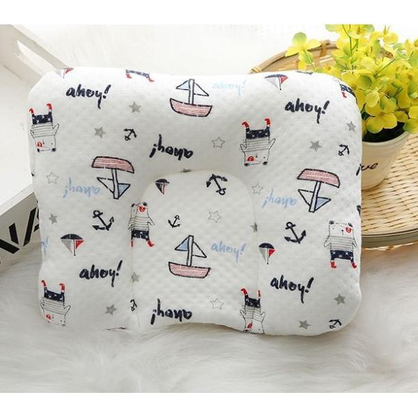 ベビー枕 ベビーピロー 新生児 赤ちゃん 枕 U型 綿100% /ベビー柔らか枕|phoenix-zakka|11