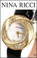 NINA RICCI ニナリッチ 腕時計 ダイヤ