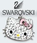 SWAROVSKI スワロフスキー ハロー キティ アクセ ネックレス