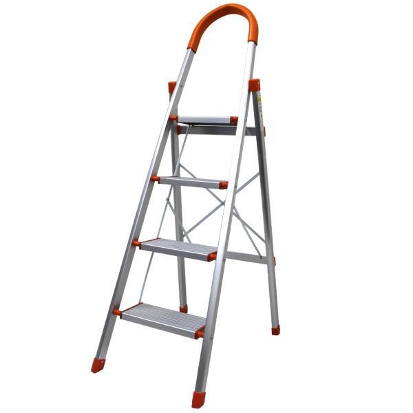 はしご 脚立 4段 アルミ 踏み台 折りたたみ おしゃれ 軽量 折りたたみ脚立 ステップラダー 雪下ろし|pickupplazashop|10