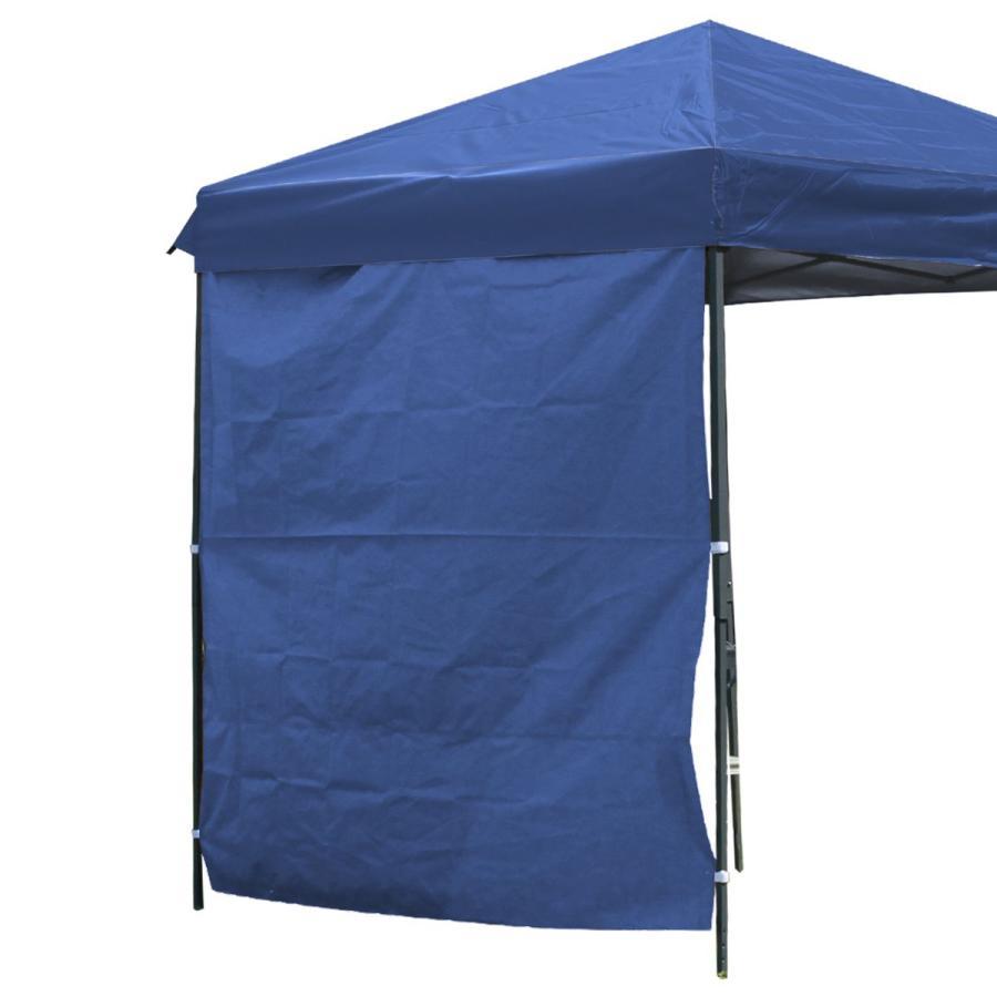 タープテント 2m×2m ワンタッチ サンシェード スチール 日よけ ベンチレーション有 サイドシート有無し選択 キャンプ BBQ|pickupplazashop|13