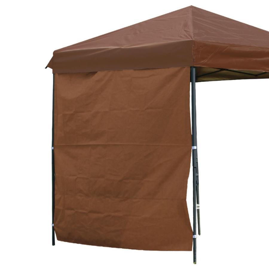 タープテント 2m×2m ワンタッチ サンシェード スチール 日よけ ベンチレーション有 サイドシート有無し選択 キャンプ BBQ|pickupplazashop|15