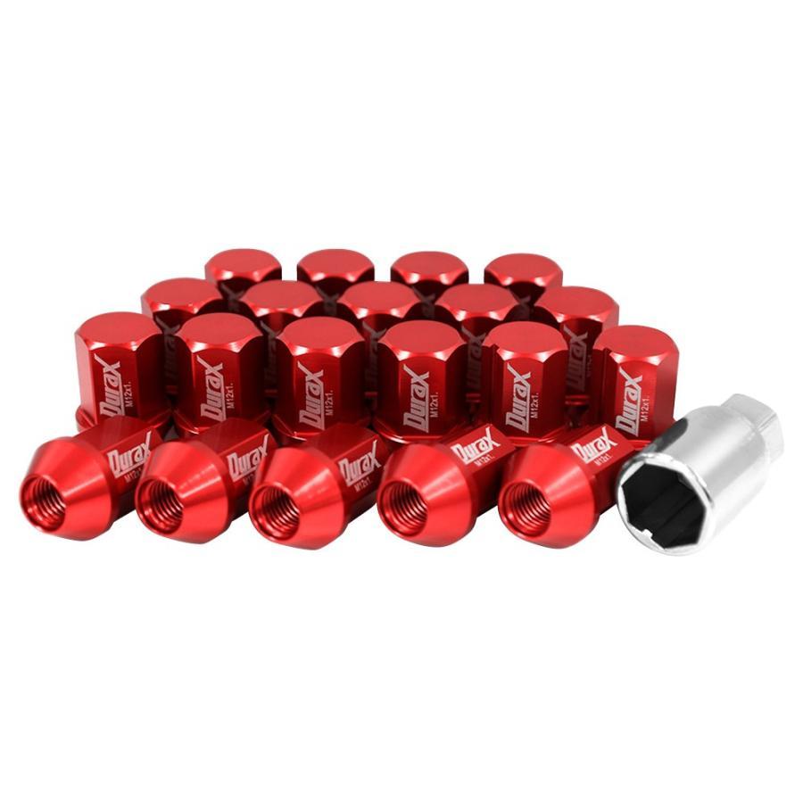 ホイールナット レーシングナット M12 P1.25 P1.5 ショート ロックナット 自動車 袋|pickupplazashop|19