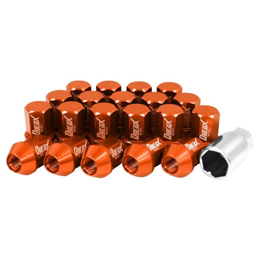 ホイールナット レーシングナット M12 P1.25 P1.5 ショート ロックナット 自動車 袋|pickupplazashop|26