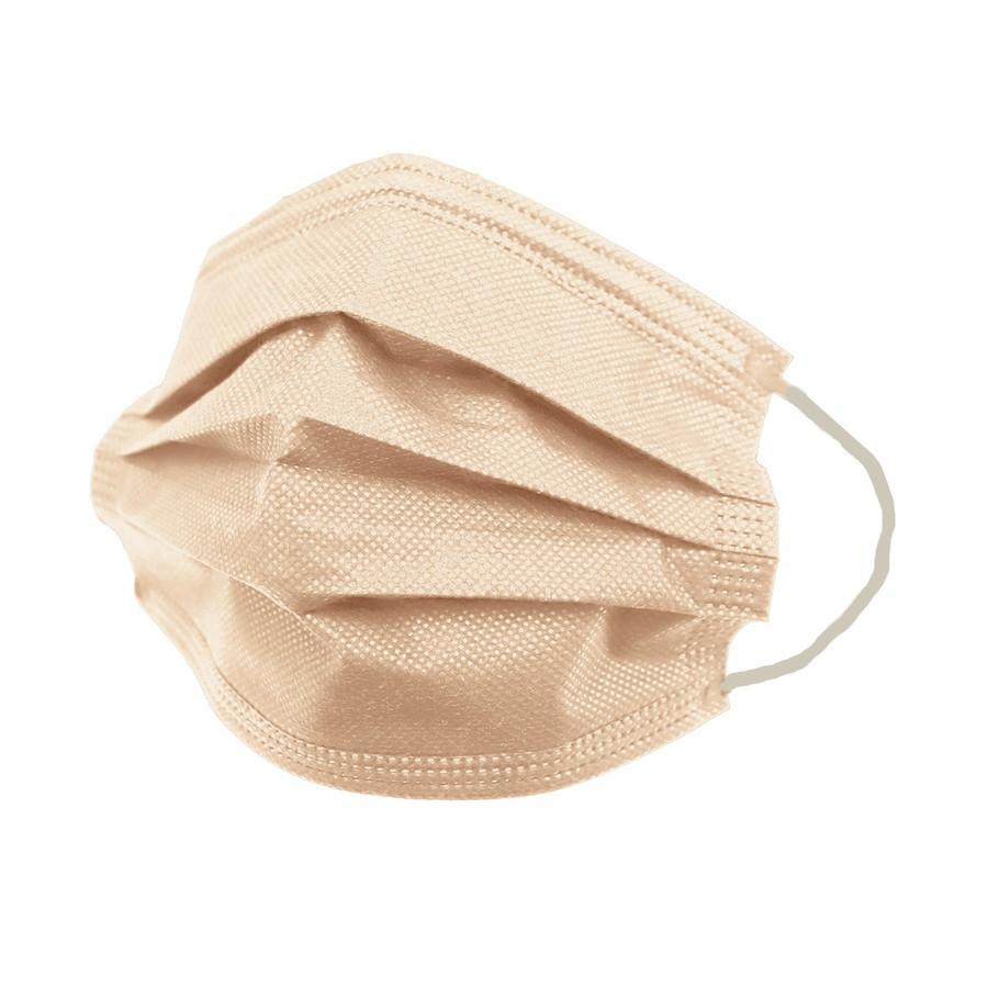 【SALE!30%OFFクーポン】不織布 マスク 3サイズ 平ゴム 10枚ずつ個包装 元祖 血色カラー 50枚 カラーマスク WEIMALL  血色マスク やわらか 大人 女性 子供|pickupplazashop|24