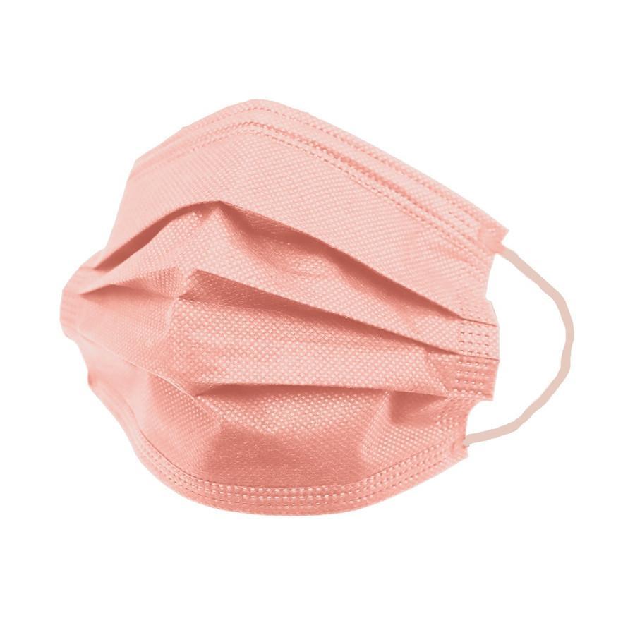 【SALE!30%OFFクーポン】不織布 マスク 3サイズ 平ゴム 10枚ずつ個包装 元祖 血色カラー 50枚 カラーマスク WEIMALL  血色マスク やわらか 大人 女性 子供|pickupplazashop|25