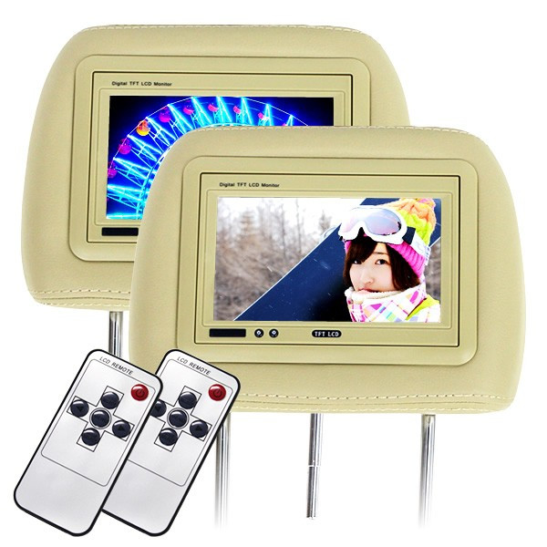 ヘッドレスト モニター 7インチ 地デジ ワンセグ フルセグ 左右セット 12V 高画質 LED 液晶 オート電源 セーブ機能|pickupplazashop|11