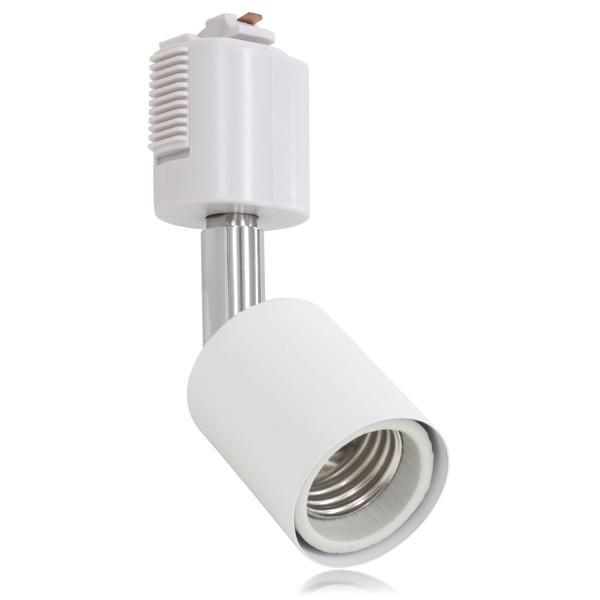 スポットライト 照明 電球用ソケット E26 ダクトレール用 シーリングライト ライティングレール 10個セット|pickupplazashop|08