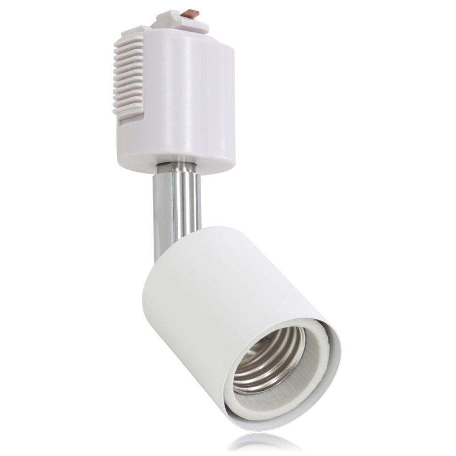 スポットライト 照明 電球用ソケット E26 ダクトレール用 シーリングライト ライティングレール|pickupplazashop|08