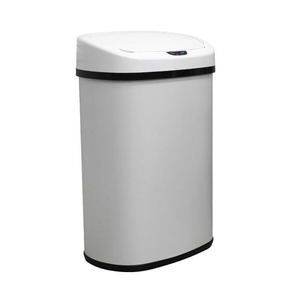 ゴミ箱 48L ダストボックス 全自動 センサー おしゃれ 自動開閉 スチール スリム リビング キッチン|pickupplazashop|10