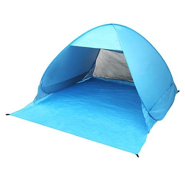 テント 2人用 3人用 サンシェードテント ワンタッチ メッシュ 195×215×126cm ポップアップテント ビーチテント キャンプ pickupplazashop 12