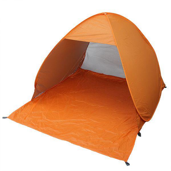 サンシェードテント ワンタッチ メッシュ 142×158×108cm 1〜2人用 ポップアップテント ビーチテント キャンプ|pickupplazashop|14