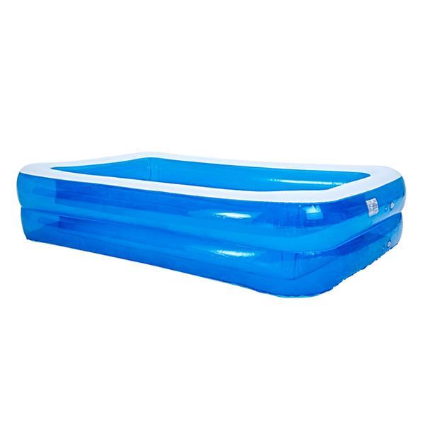 プール 家庭用 大型 2.8 m 子供用 ビニールプール ファミリープール 子供用 家庭用プール 水遊び 庭遊び 熱中症予防|pickupplazashop|11