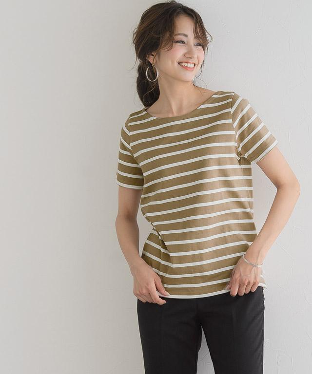 3typeから選べる 地厚ボーダーTシャツ