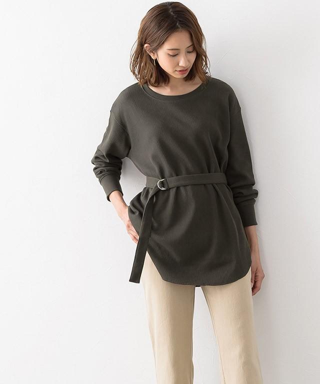 ウエストマークTシャツ