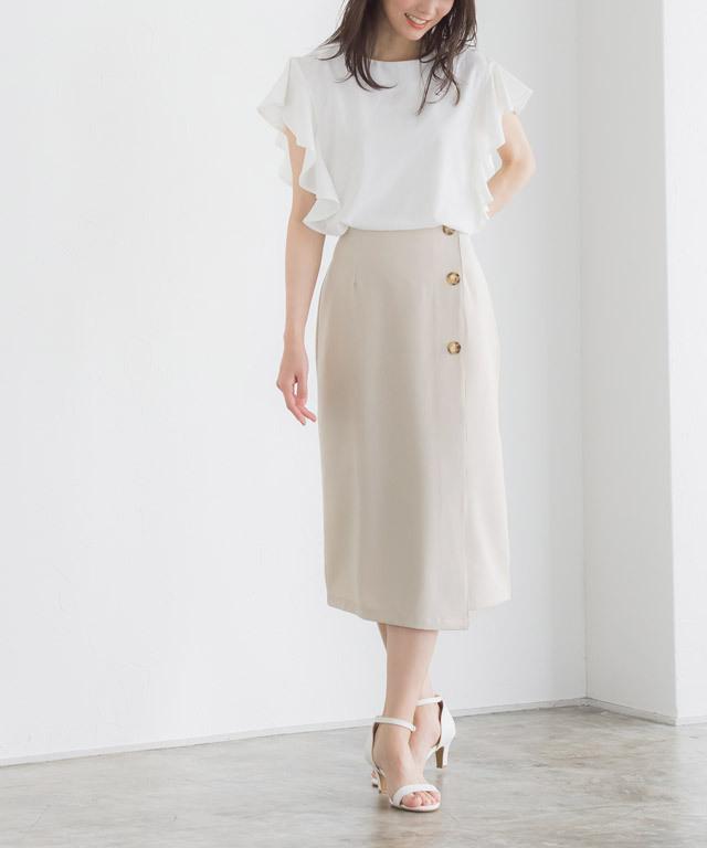 ★★ラップ風スカート