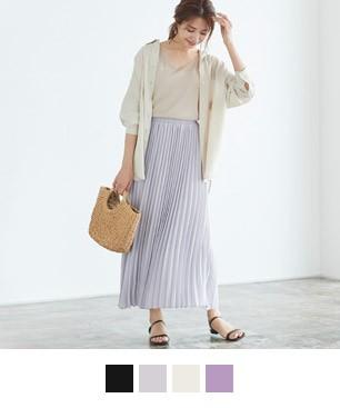 2丈から選べるプリーツスカート