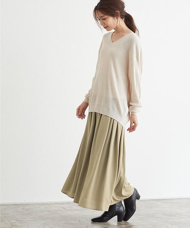 フリルギャザースカート